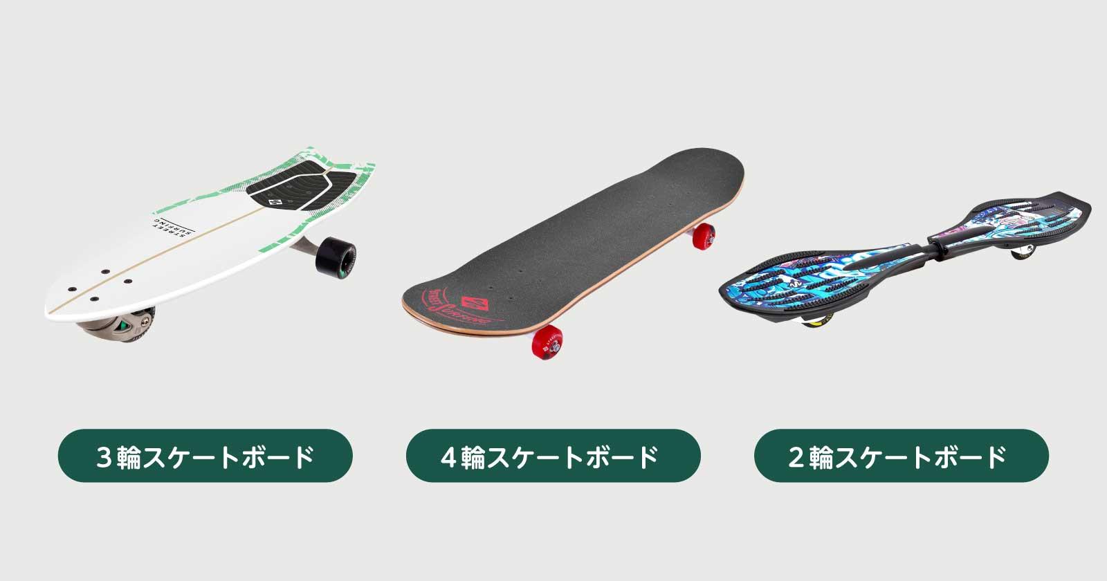 3輪スケート